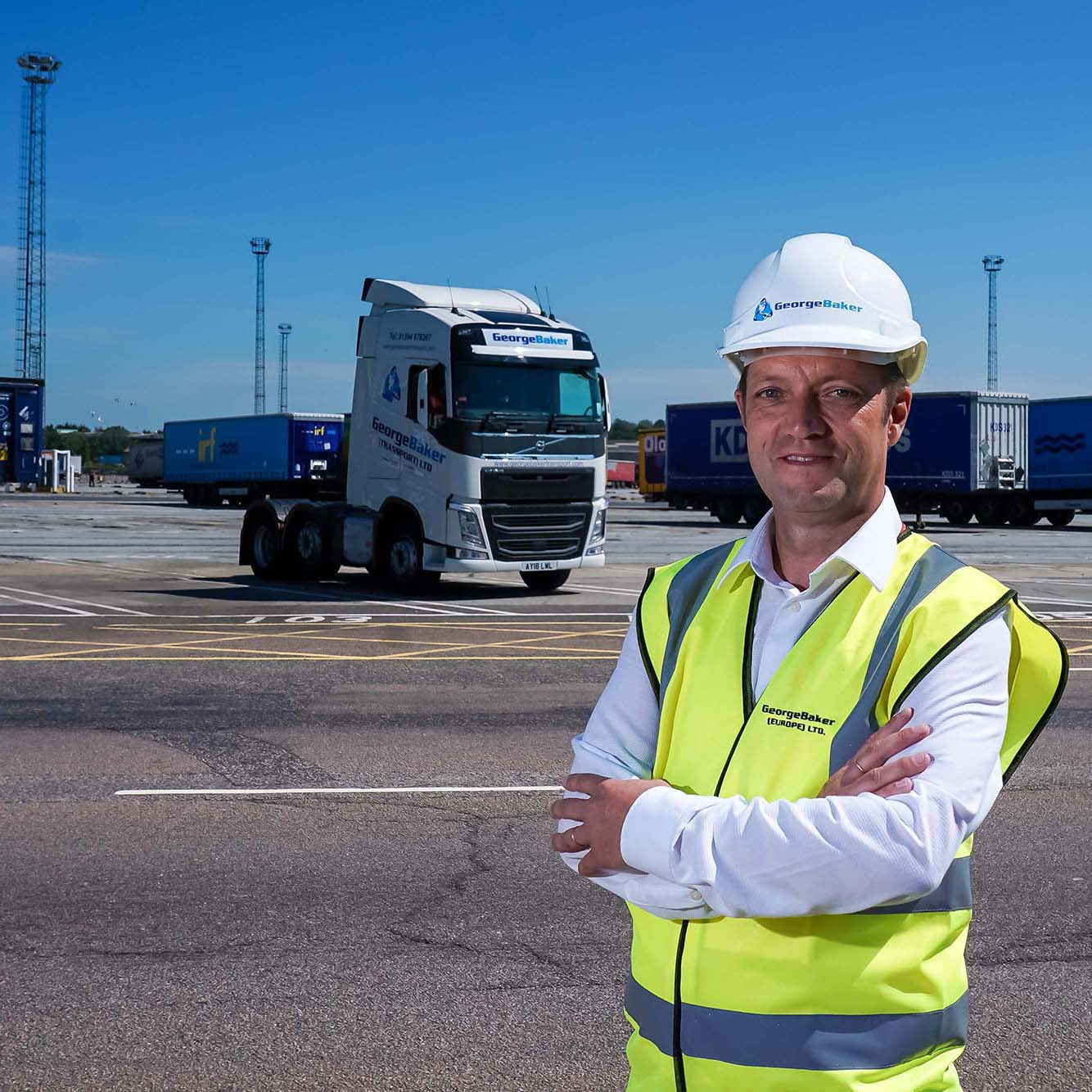 Commercial shoot at George Baker (Shipping) Ltd, 4 Parker Ave, Felixstowe, on 05-July-2019. Picture: Stephen Waller  www.stephenwaller.com